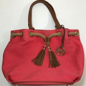 Michael Kors Rope & Ring Tote Handbag Satchel